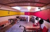 Bruce Lee geïnspireerd Garage Makeover
