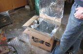 Hoe maak je een eenvoudige kartonnen zonne-Oven