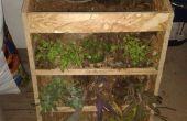 Verticale tuin & weer aangedreven door Intel Edison