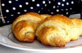 Hoe te maken zelfgemaakte Croissants