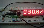 7 segment Digitale Thermometer met ATtiny 85