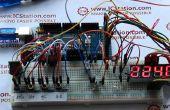 Timing van de lichtgevoelige infrarood LED controlesysteem op basis van Arduino