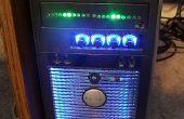 """Kitt scanner computer mod voor lege 5 1/2"""" aandrijving dekking"""