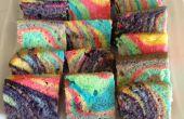 Zebra Cake van de regenboog