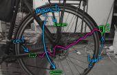 Magnetische inductie veiligheid fietsverlichting. Bijna onzichtbaar ontwerp, goedkoop, waterproof en batterij gratis!