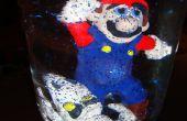 """Super Mario Brothers met droge botten Dungeon """"sneeuwbol"""""""