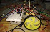 Obstakel te vermijden Robot met behulp van IR Module geïnterfacet met een boord van Mediatek LinkIt