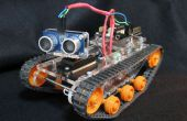 'Kleine Tank' Robot Arduino/Picaxe/Tamiya platform