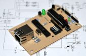 Een credit card sized Arduino Ethernet compatable controller boord