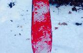 Snowboard/Snowskate van een Skateboard-dek