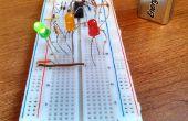 Bouwen van een eenvoudige 9V LED Stoplight