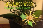Reclaimed Hout: Popsicle Stick bloem