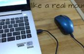 Een muis + een power bank = herlaadbare draadloze muis
