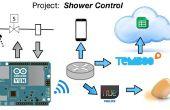 Internet van dingen: controle douche