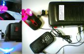 IMPROVISED DYNAMO POWER SUPPLY (met lader poorten, led licht, mini ventilator)