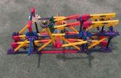 Compacte scheidingsteken: Een bal van K'nex machine scheidingsteken