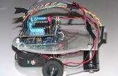 Arduino gebaseerde lijn volgeling robot met behulp van Pololu kW-8RC lijn sensor