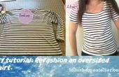 Recycle kleding: Omwerken zuinig Shirt
