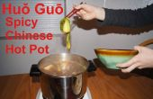 Eenvoudige Sichuan Huo Guo (kruidige warme Pot)