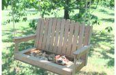 Maak een Swing Bench Vogelhuis/waterbak