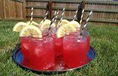 Bruidsmeisjes roze limonade
