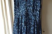 New Year's Eve LED Sparkle jurk