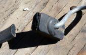 Gebruik voor een oude Rubber Bungee Strap (DIY projectidee) hergebruiken