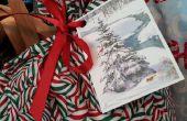 Gerecycled Gift Tags van oude ansichtkaarten maken