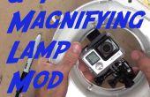 Een GoPro hechten aan een vergrootglas Lamp!