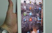 One – handed iPad2 Smart Cover gebaseerde houder