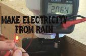 Regenpijp generator