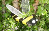 BADMINTON racket BUMBLE BEE