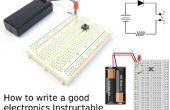 Hoe schrijf je een goede elektronica Instructable