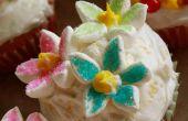 Bloeiende Lemon Ginger Cupcakes met Mint