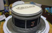 Een chocolade Drum Cake!