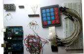 Weerstand rekenmachine met behulp van RGB LED's