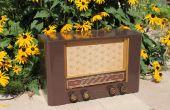Oude Radio transformatie