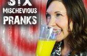 6 ondeugend trucs & Pranks - voor April Fools'