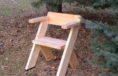 Een stoel voor het buitenleven
