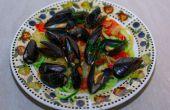 Heerlijke, vulling, & gezonde zeevruchten Pasta