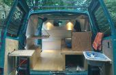 DIY Van naar camper conversie