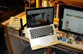 Een DIY Laptop Rack