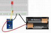 Blink voor ESP8266 native, zoals arduino met behulp van Windows