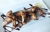 Sticky Wings & balsamico Bean motregen