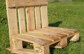 Een Pallet = een Bench