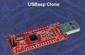 USBASP Bootloading, een ATMega328p met een interne klok van 8mhZ