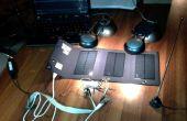 Eenvoudige zonne-energie aangedreven QRP zender