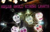 Suiker schedel String Lights