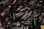 Nieuw leven voor lege batterijen voor Ni-CAD- en alkiline