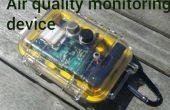 Lucht kwaliteit controle apparaat met behulp van arduino